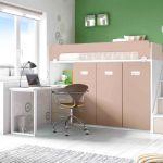 Lit Mezzanine Et Bureau Beau Avenant Lit Bureau Armoire  Armoire Lit Bureau Lit Armoire 2 Places