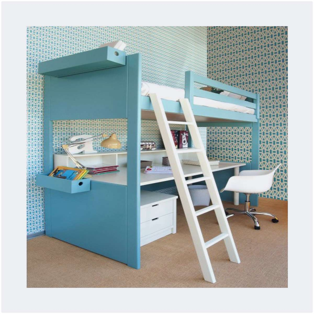 Lit Mezzanine Fille Beau Beau Lit Mezzanine Pour Ado Lit Bureau Frais Bureau 2 Places Beau