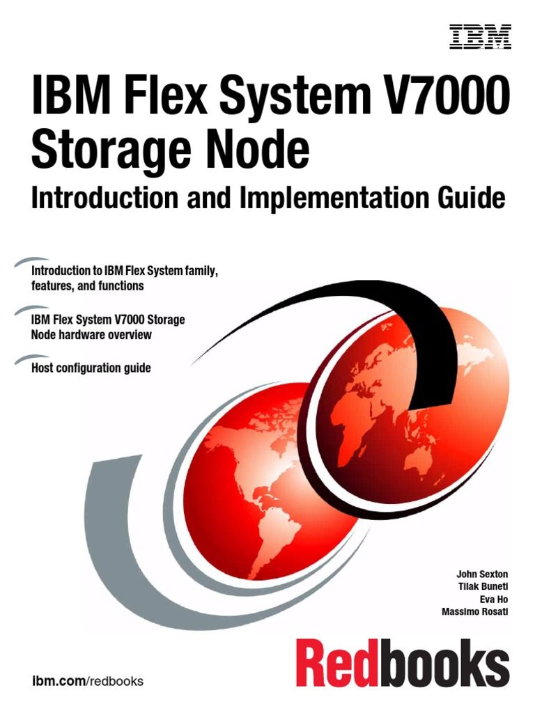 Lit Mezzanine Flexa Impressionnant Ibm Sg Redbook Flex System V7000 Storage Node