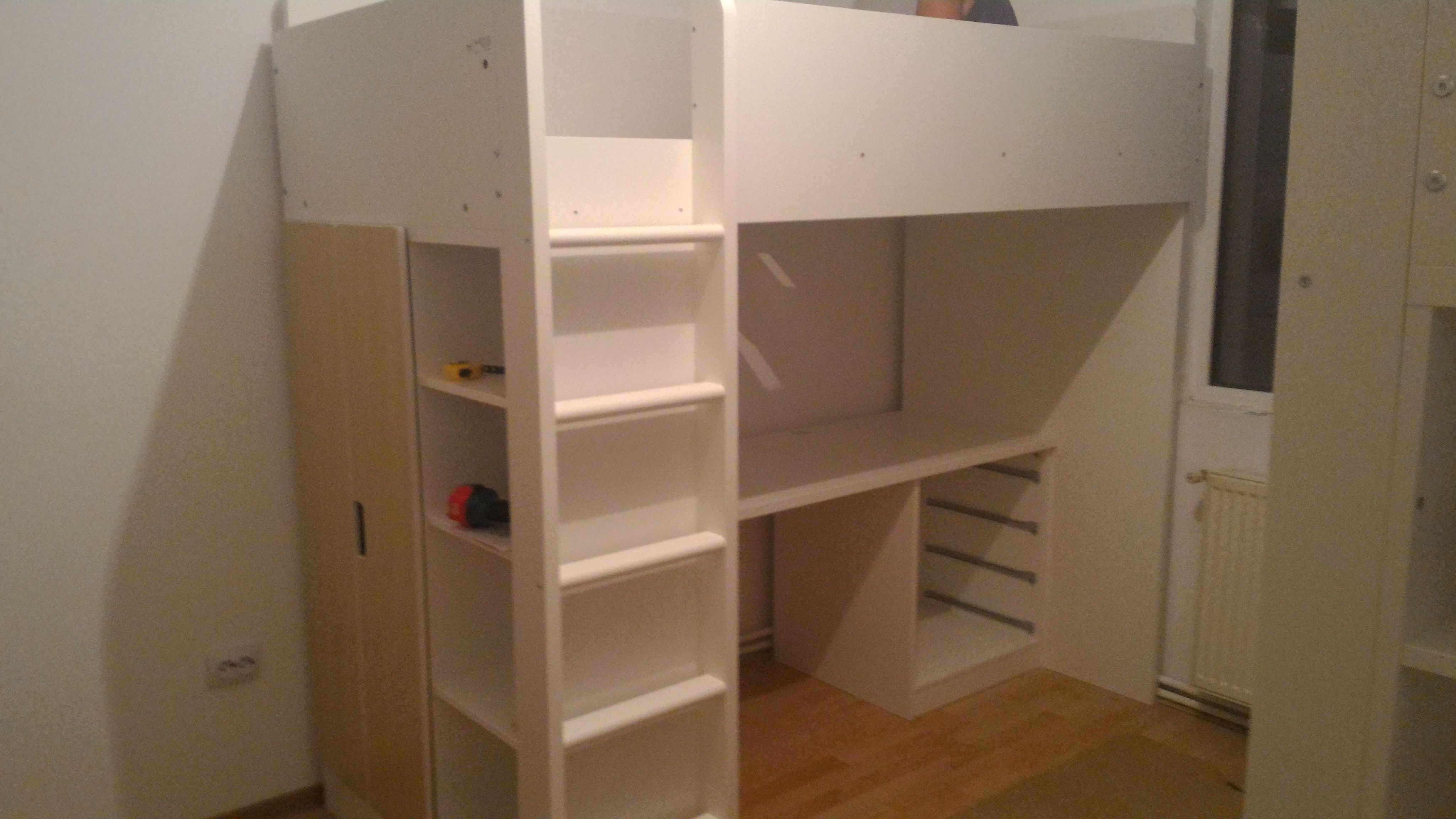 Mirroring an Ikea Loft bed Stuva Home Decor