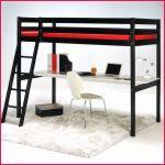 Lit Mezzanine Metal Inspiré Enchanteur Lit Mezzanine Avec Canape Dans Lit Mezzanine Design Lit