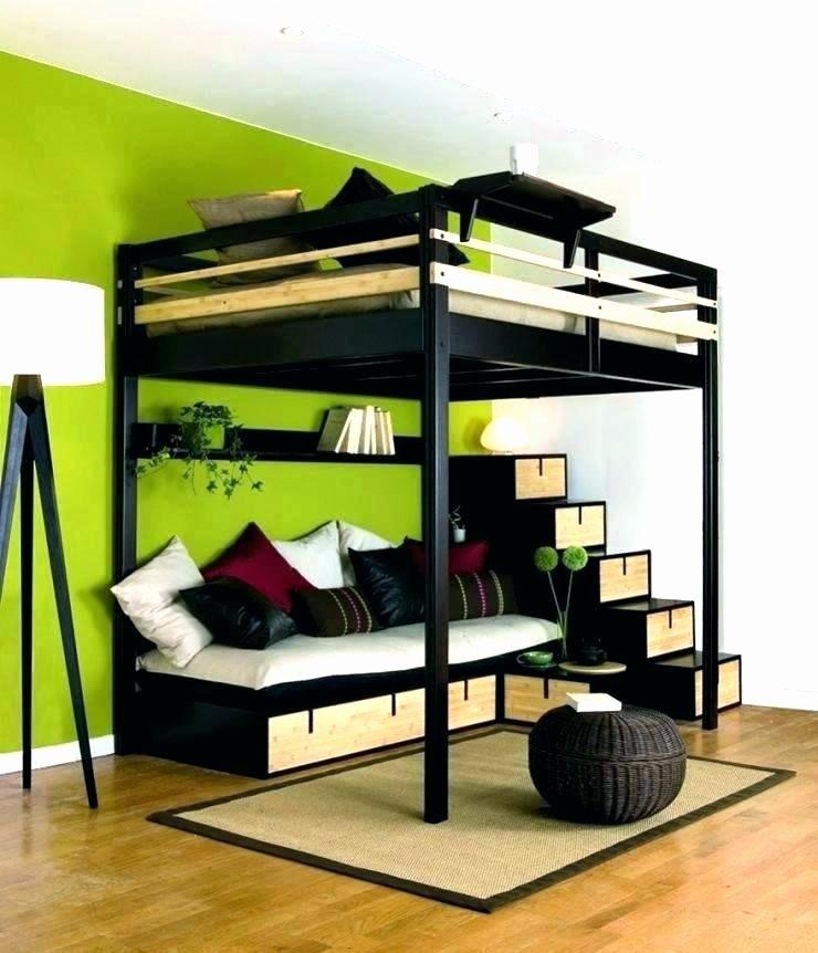 Lit Mezzanine Noir Élégant Lit Mezzanine 140—190 Bois élégant Media Cache Ec0 Pinimg 736x Cd 0d