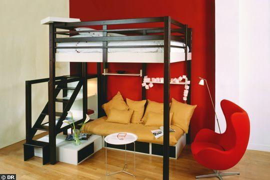 Lit Mezzanine Plateforme Meilleur De Aménagement sous Lit Mezzanine Recherche Google дизайн