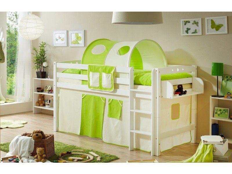 Lit Mezzanine Pour Enfant Douce Lit Mezzanine Lit Tunnel Lit Enfant Lit Cabane Bois Massif