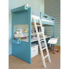 Lit Mezzanine Stuva Fraîche 378€ Lit Junior Diabolo Avec Tiroir Lit Kid Bedroom