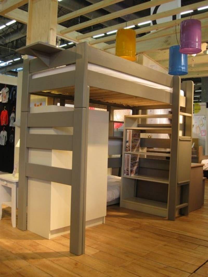 Lit Mezzanine Sur Mesure Charmant Lit Mezzanine Sur Mesure 38 Beau De Bureau Style Anglais