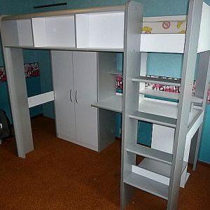 Lit Mezzanine Sur Mesure Douce Deco Lit Mezzanine Mezzanine Bureau Unique  Deco Maison Design Best