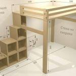 Lit Mezzanine Sur Mesure Le Luxe Fabrication Dun Lit Mezzanine Sur Mesure En Bois Massif Lit