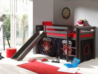 Lit Mezzanine toboggan Bel Lit Mezzanine toboggan Unique Lit Avec Escalier Rangement Rangement