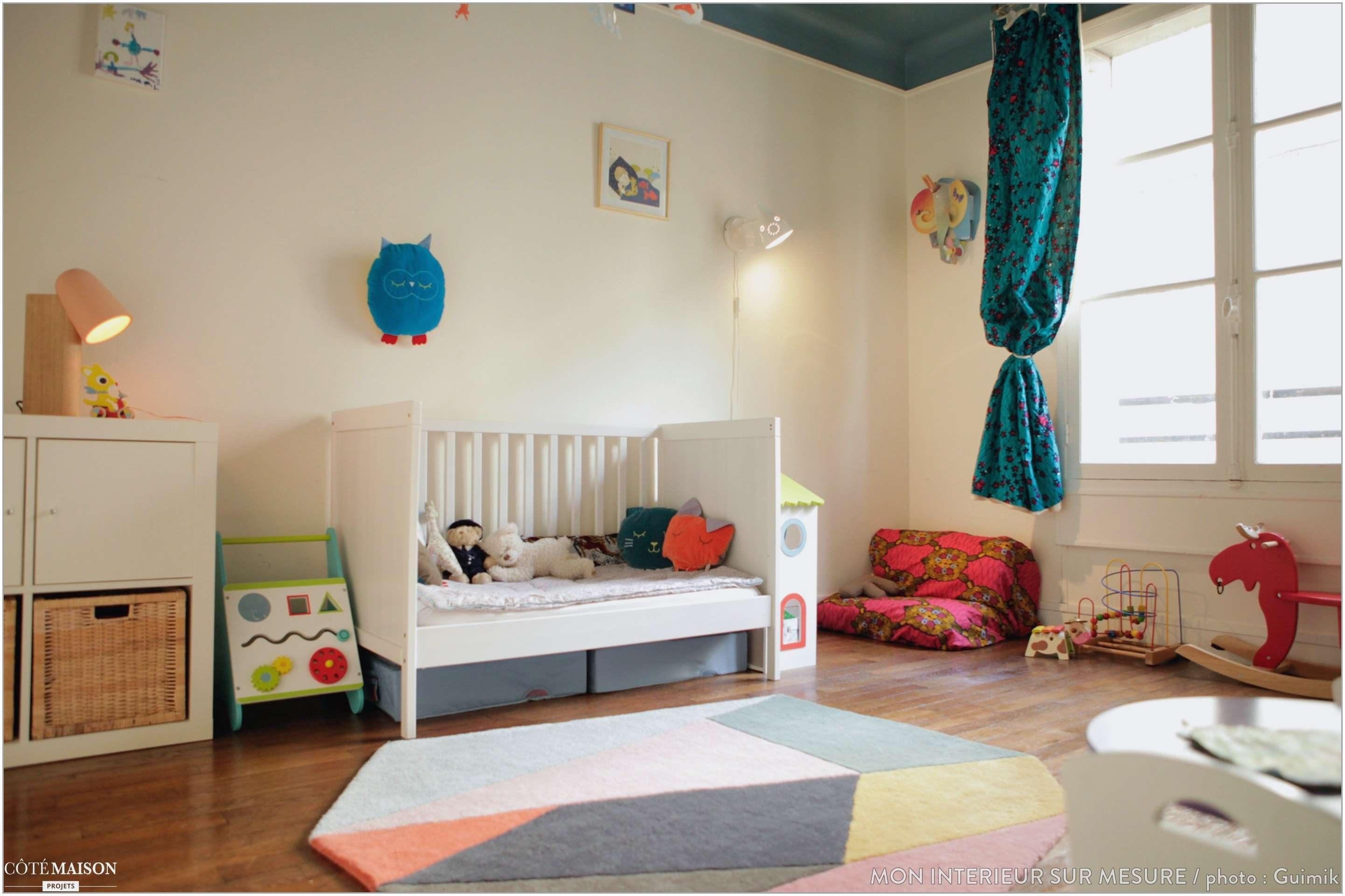 Lit Montessori Bébé 9 Mois De Luxe Chambre Bébé Couleur