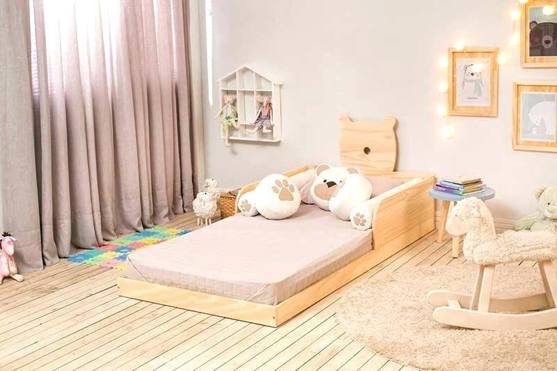 Montessori Bed Frame Bed Floor Bed Floor Bed Frame Bed Montessori