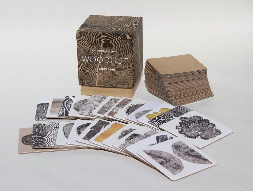 Lit Montessori Pas Cher Élégant Woodcut Memory Game