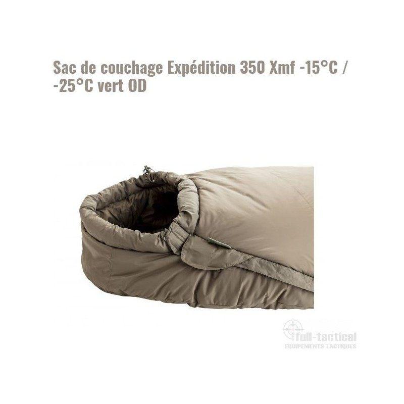 Lit Parapluie 2 Niveaux De Couchage Magnifique Sac De Couchage Expédition 350 Xmf 15°c 25°c Vert Od Full Tactical