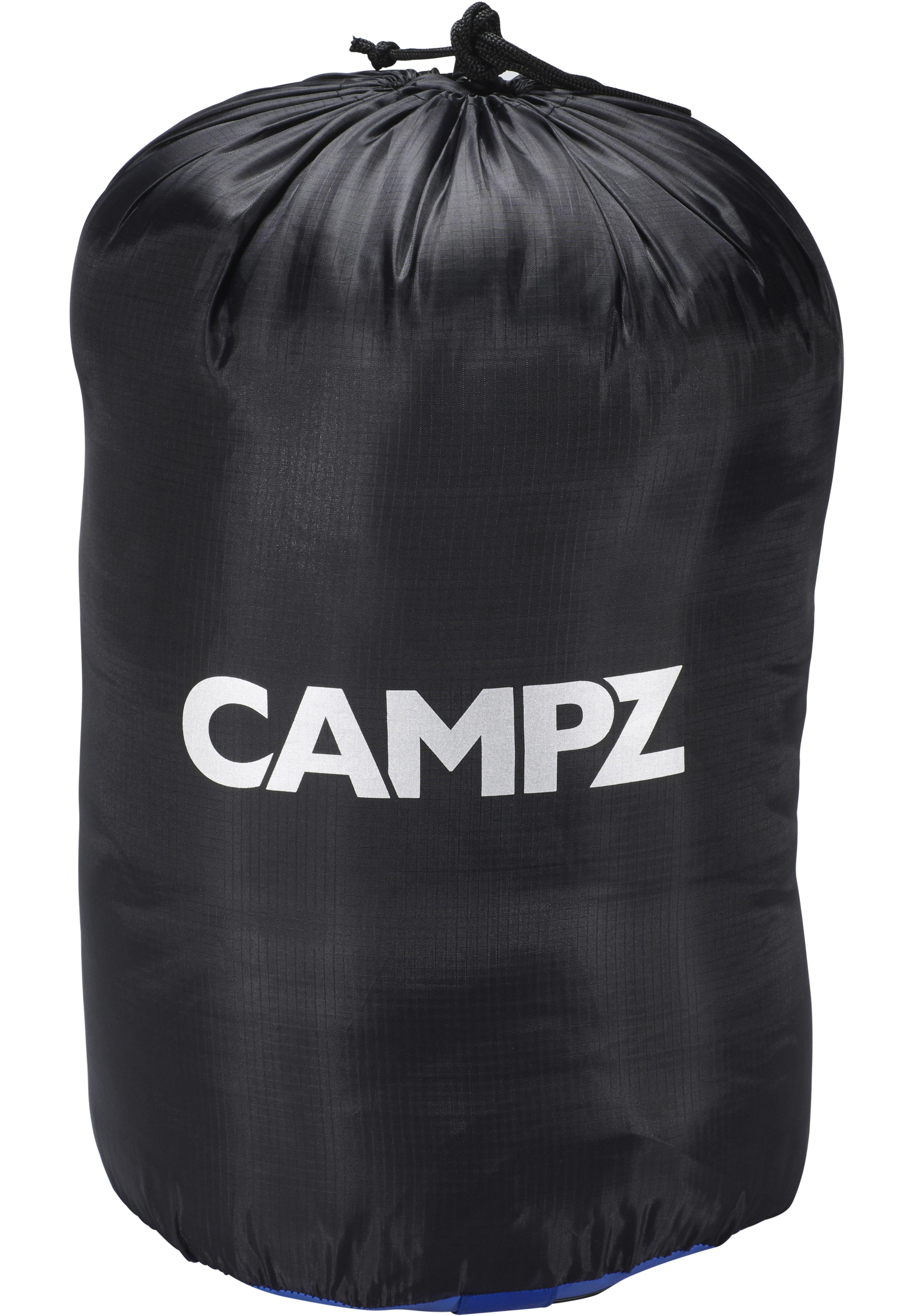 CAMPZ Desert Pro 300 Sac de couchage bleu noir sur CAMPZ