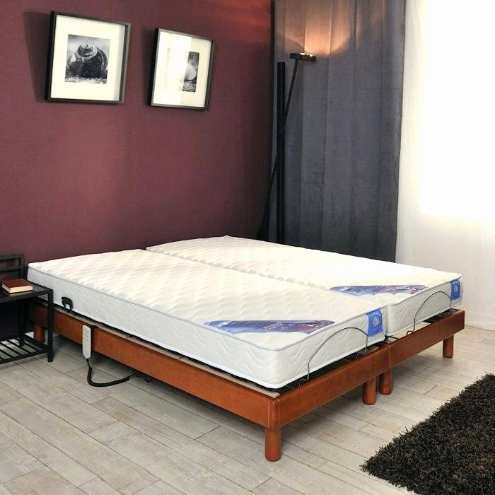 Lit Pas Cher 180×200 Nouveau Lit Led 180—200 Nouveau fortable Bed Frame Bedroom Artificial