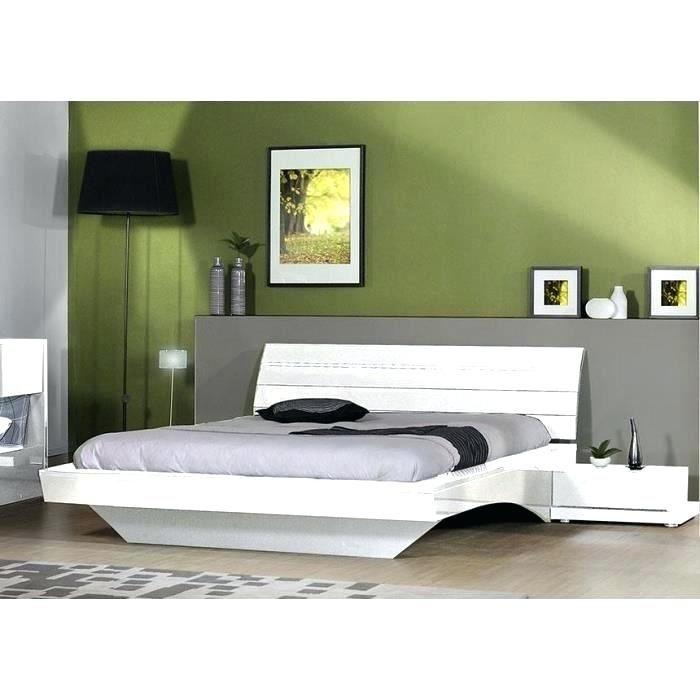 Lit Pas Cher Avec sommier Charmant Lit Design 140—190 Lit Design Piki Blanc 140—190 Achat Vente