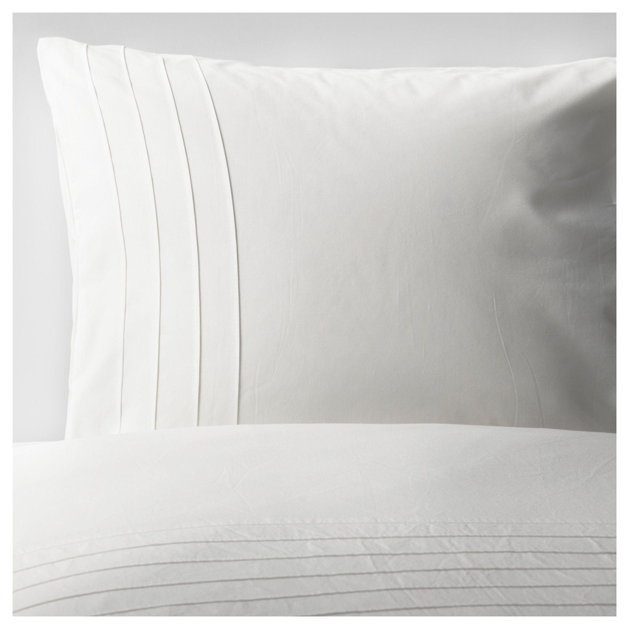 IKEA ALVINE STR… Housse de couette et taie 150x200 50x60 cm