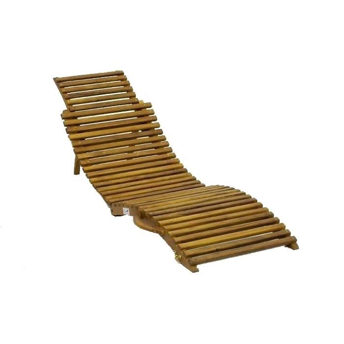 Lit Pliant Bois Nouveau Chaise Longue Transat Lit Pliable En Bois Chaise Longue Transat Lit