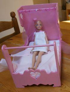 Lit Poupee En Bois Charmant 75 Meilleures Images Du Tableau Meubles Pour Poupée Barbie