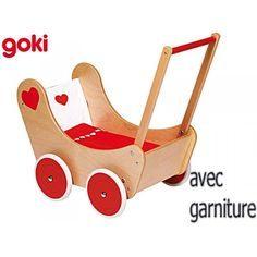 Lit Poupee En Bois Inspirant 9 Meilleures Images Du Tableau Poussette Et Berceau En Bois Pour