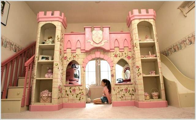 Lit Pour Enfant Fille Luxe Chambre Fille Chateau Princesse Lit Princesse Pour Fille Lit Petite