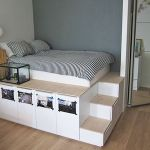 Lit Queen Size Ikea Le Luxe Inspirational Ikea Queen Bed With Storage Suttoncranehire
