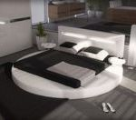 Lit Rond 160x200 Charmant Pin by Accro Design On Lit Design