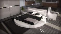 Lit Rond 160×200 Charmant Pin by Accro Design On Lit Design