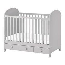 Lit Rond Bebe Charmant Cribs Ikea