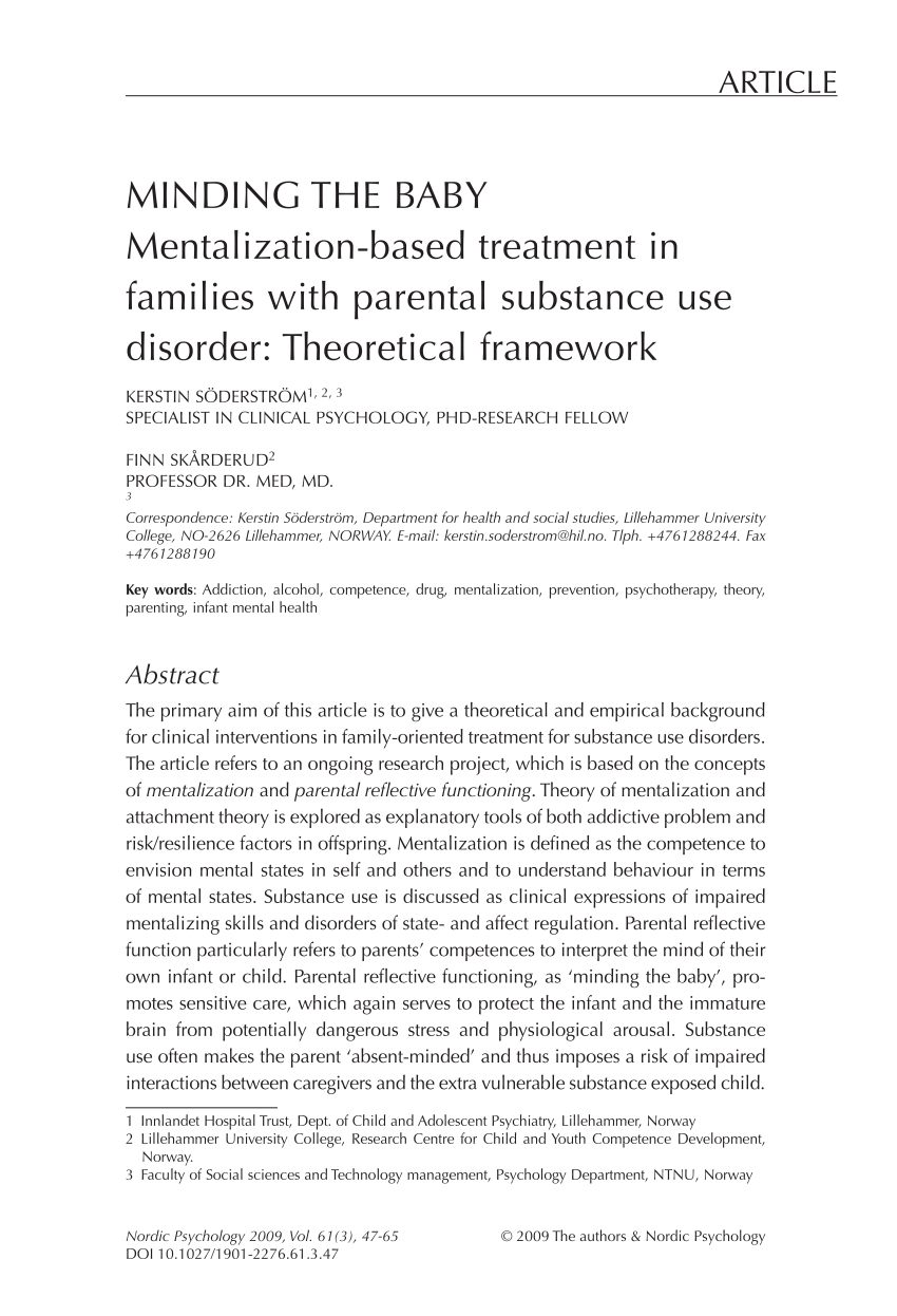 Lit Rond Bebe Impressionnant Pdf Minding the Baby Mentalization Based Treatment In Families with