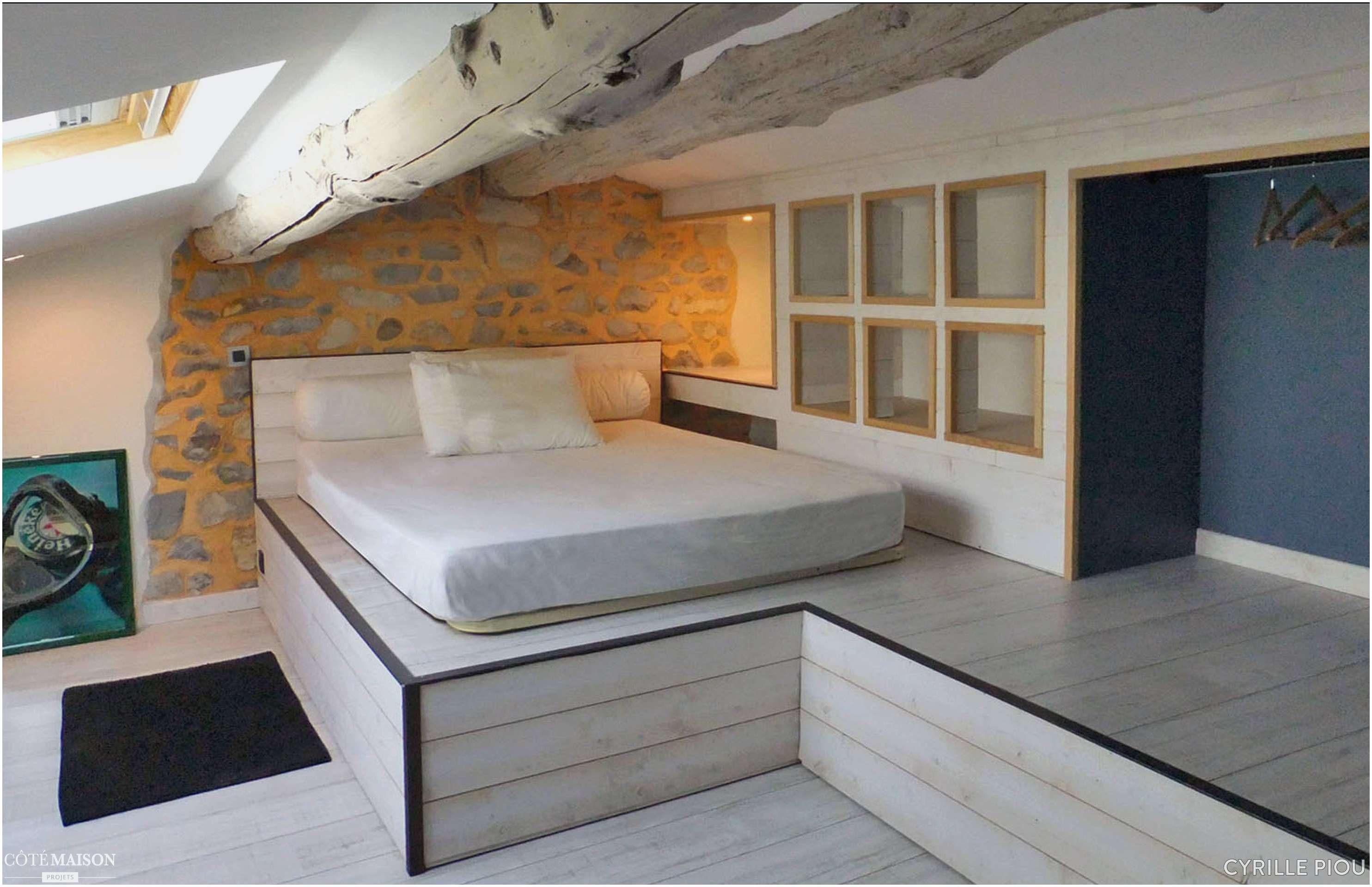 Lit Scandinave 160×200 Inspiré Nouveau Chambre Mezzanine Adulte Beau Mezzanine Salon 0d Neat De