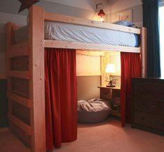 Lit Semi Mezzanine Impressionnant Les 10 Meilleures Images Du Tableau Aménagement Des Chambres Sur