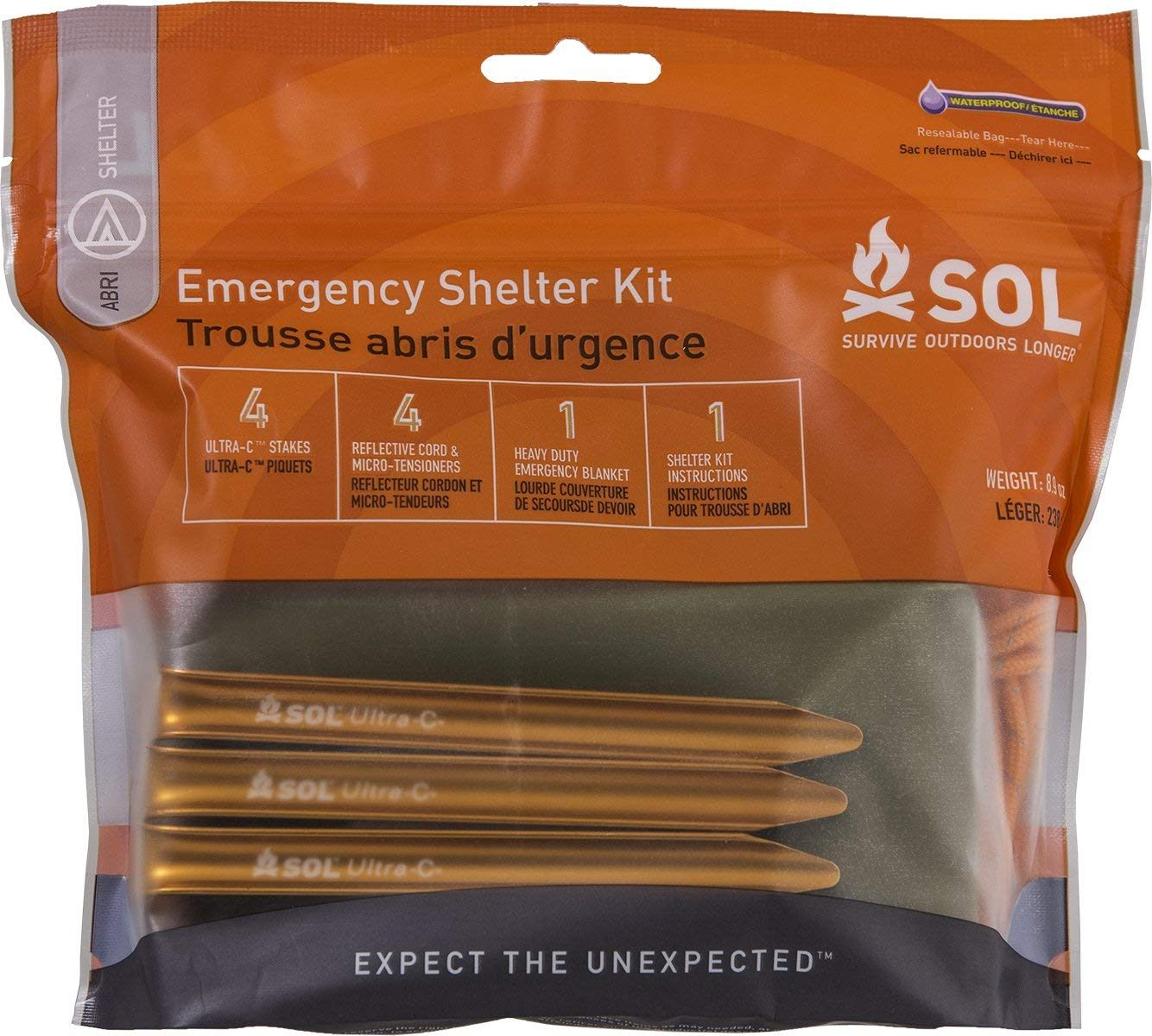 Lit sol Bebe Charmant Amazon S O L Survive Outdoors Longer Emergency Shelter Kit