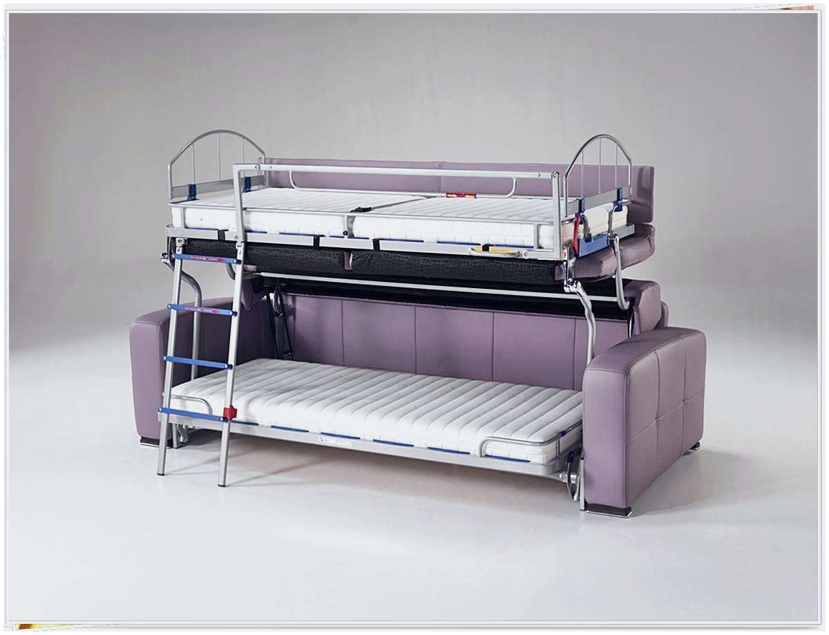 Lit Superposé 140x190 Bel Frais Canap Convertible En Lit Superpos Conception La Maison