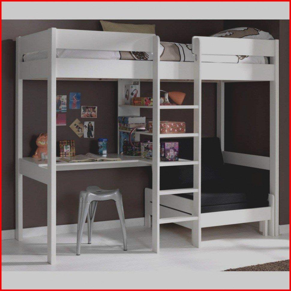 Lit Superposé 140×190 Bel Lit Mezzanine Blanc Ikea