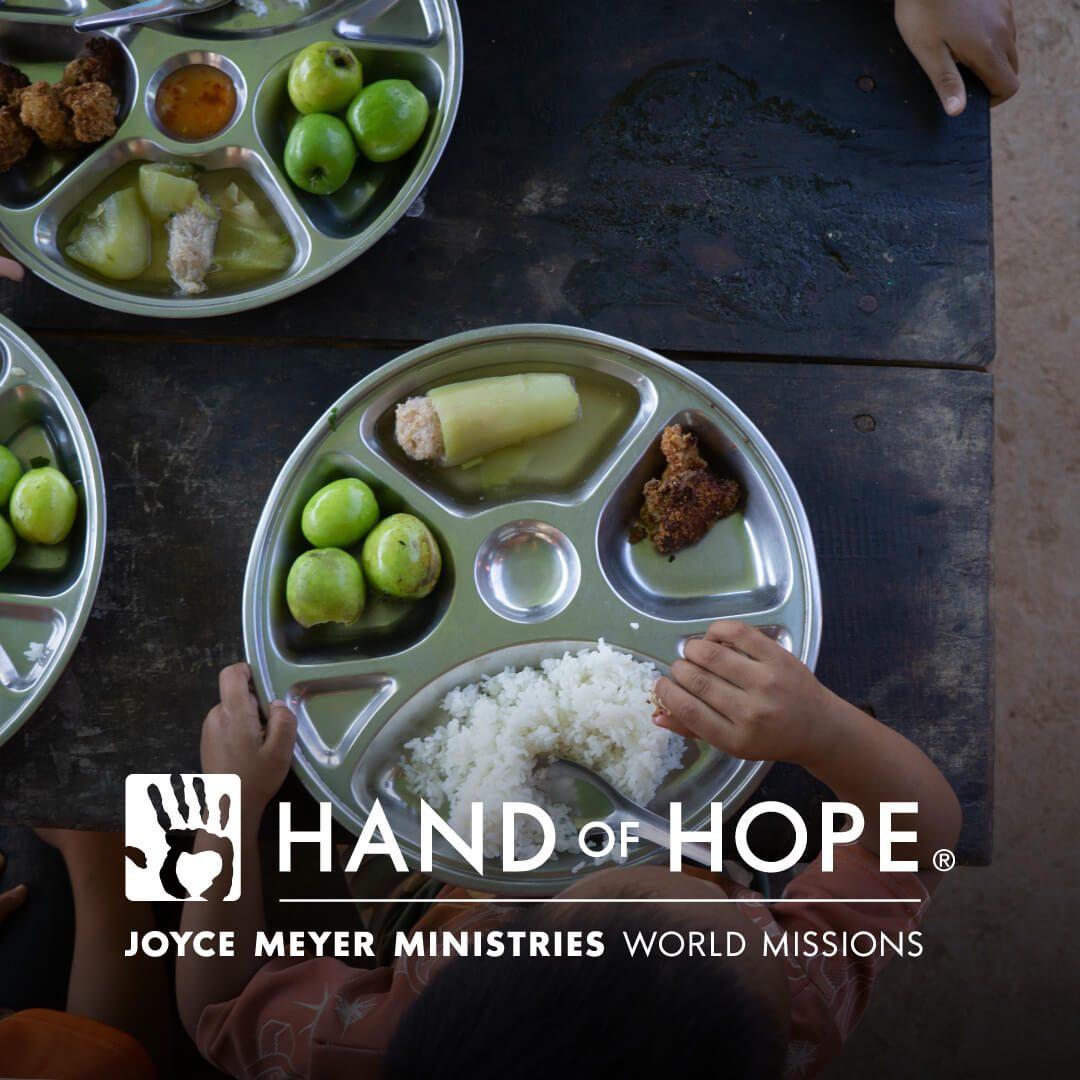 Lit Superposé 2 Places En Haut Et En Bas Fraîche Joyce Meyer Ministries Hand Of Hope Everyday Answers Conference