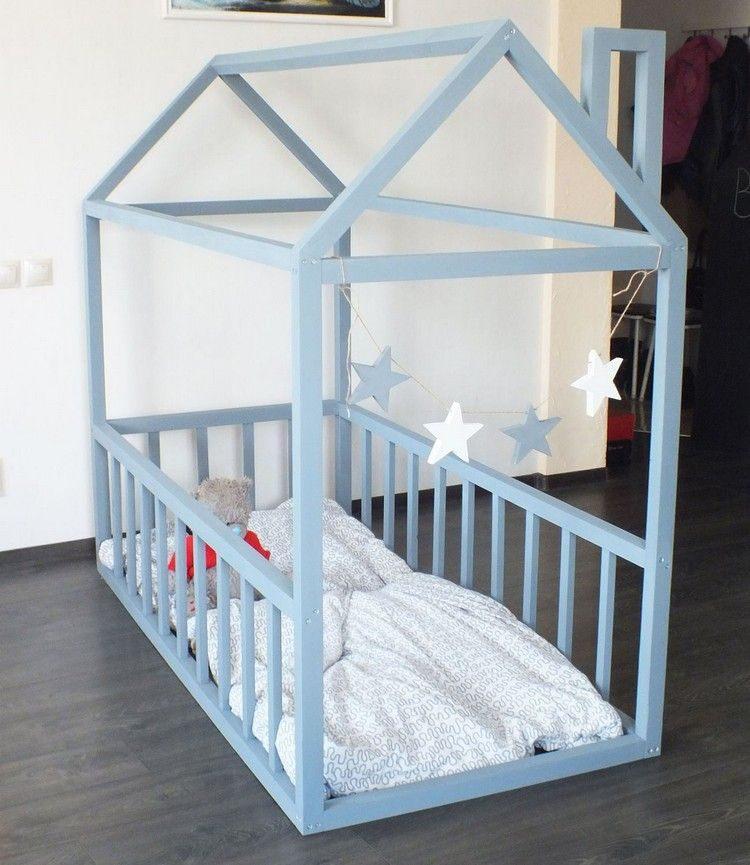 Lit Superposé 3 étages Bel Napravite Ležajnu Kućicu Za Malu Lutku Demonstracija Na Fotografijama