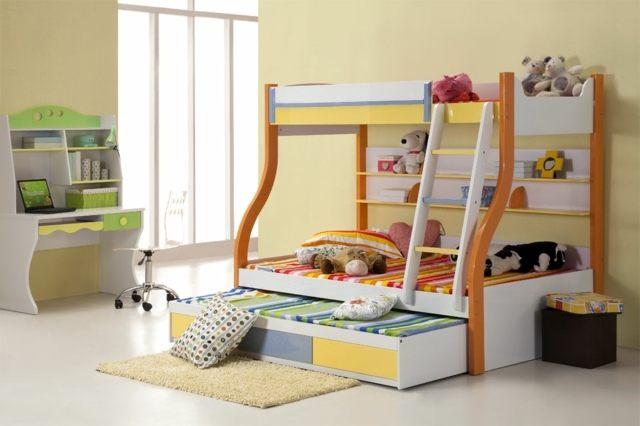 Lit Superposé 3 étages Belle अपने बच्चे के लिए बंक बिस्तर सही