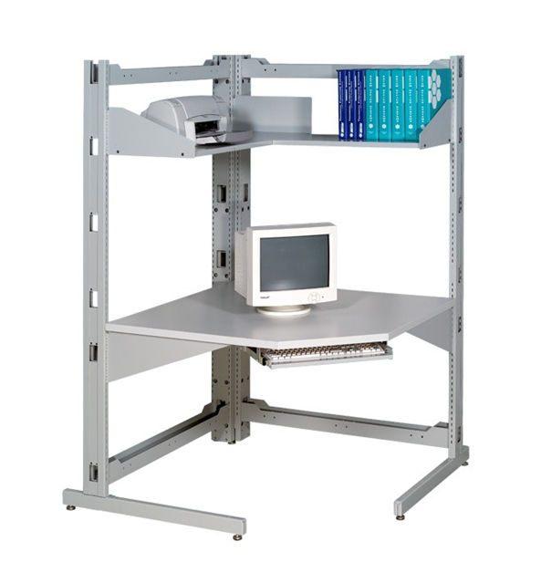 Lit Superposé 3 étages Charmant D ordinateur Beau Meuble D ordinateur
