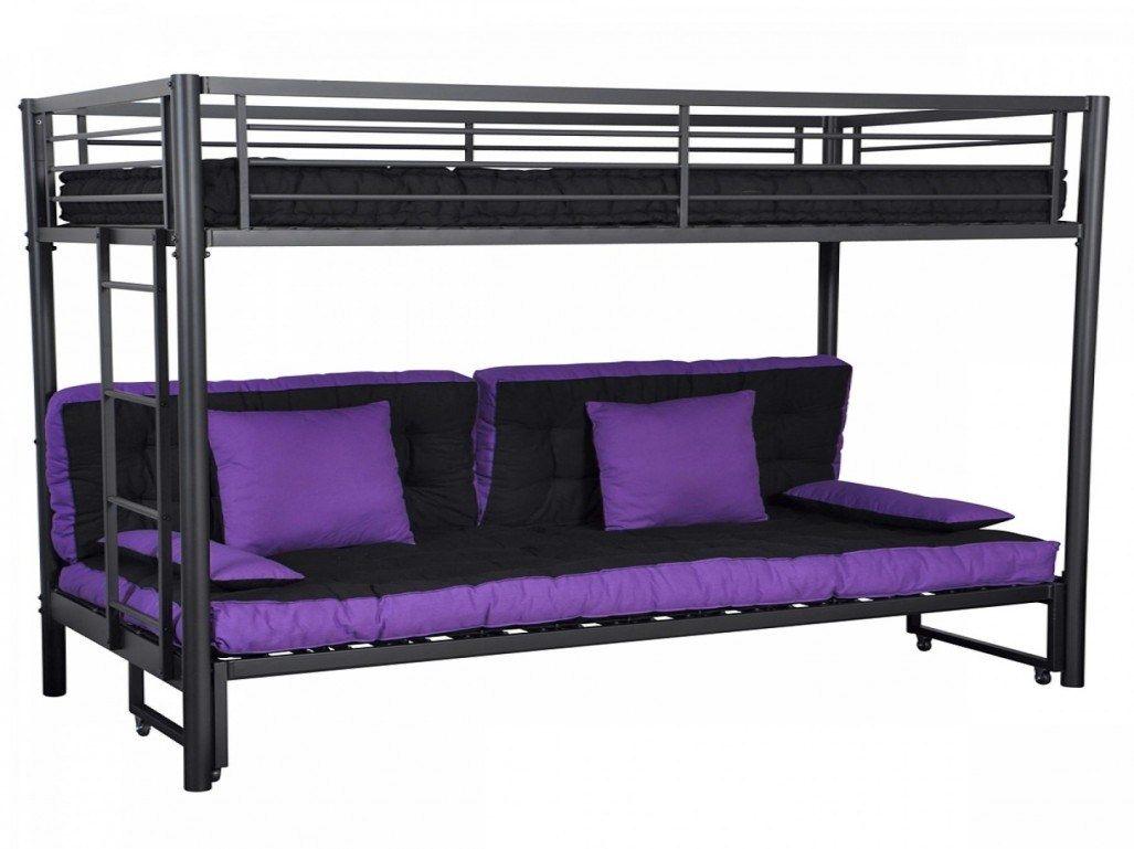 Lit Superposé 80×190 Charmant Lit Mezzanine Avec Clic Clac Ikea
