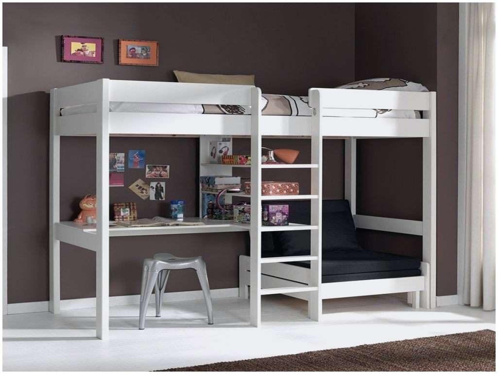 Lit Superposé 90×190 Luxe Beau Lit Mezzanine 1 Place Pour Meilleur Lit Superposé Rabattable
