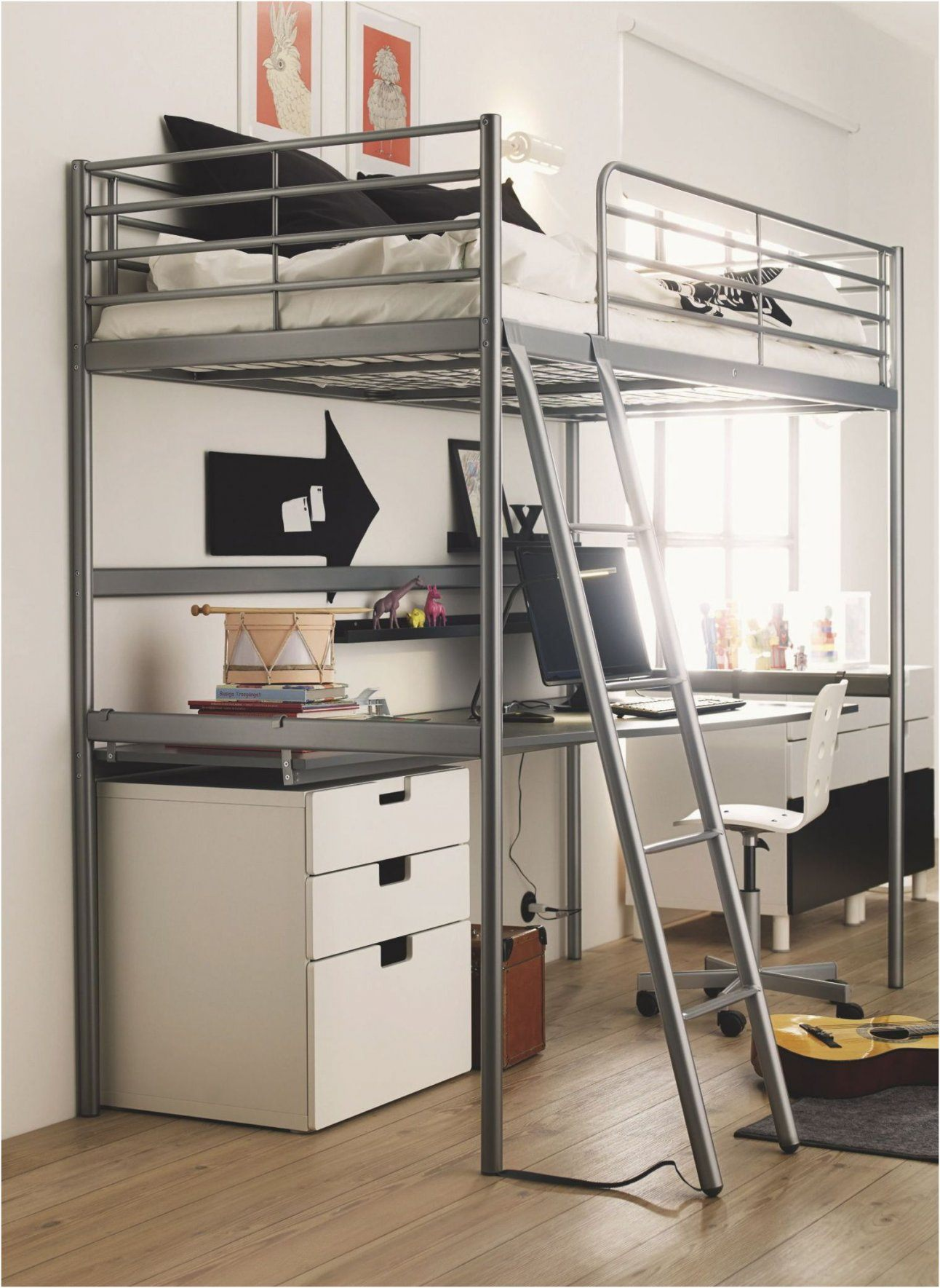 Lit Superposé Ado Frais Lit Mezzanine Avec Bureau Ikea