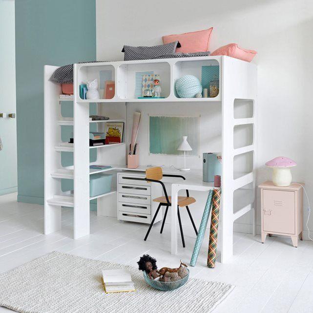 Lit Superposé Avec Bureau Bel Lit Mezzanine Bureau Armoire Download Armoire Enfant Pas Cher