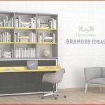 Lit Superposé Avec Bureau Génial Incroyable Lit Canapé Escamotable Ou Lit Bureau Escamotable Lit