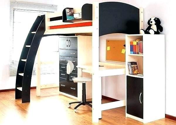 Lit Superposé Avec Bureau Intégré Agréable Lit Mezzanine 2 Places Fly Impressionnant S Tete De Lit Fly
