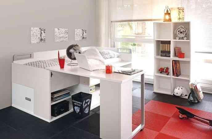 Lit Superposé Avec Bureau Intégré De Luxe 23 Fantastique Lit Avec Bureau Intégré