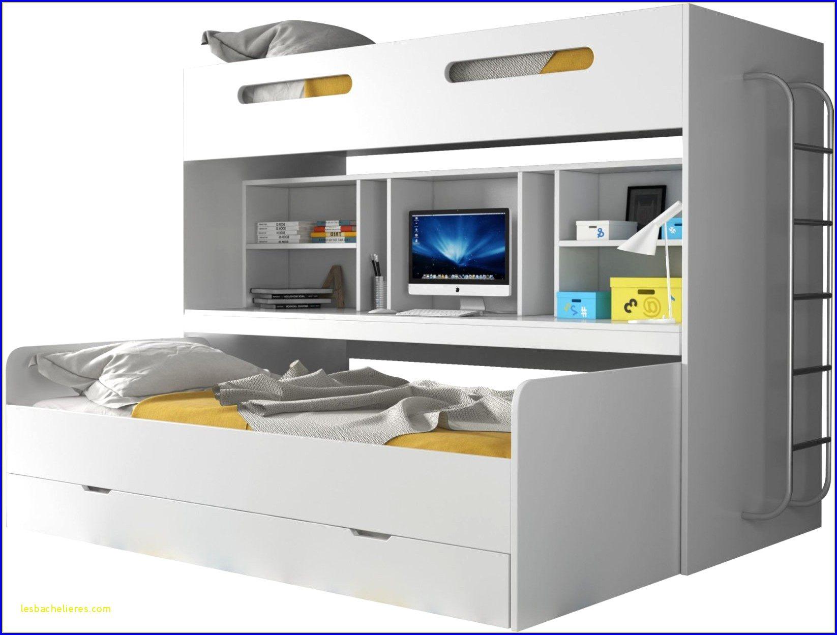 Lit Superposé Avec Bureau Le Luxe Résultat Supérieur 95 Luxe Lit Biné Armoire Bureau Image 2018
