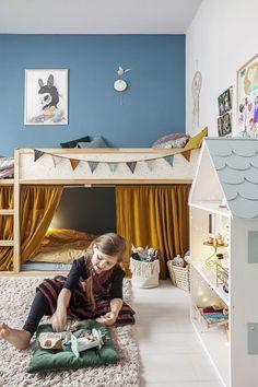 Lit Superposé Blanc Génial 32 Meilleures Images Du Tableau Ikea Hack Lit Enfant Kura