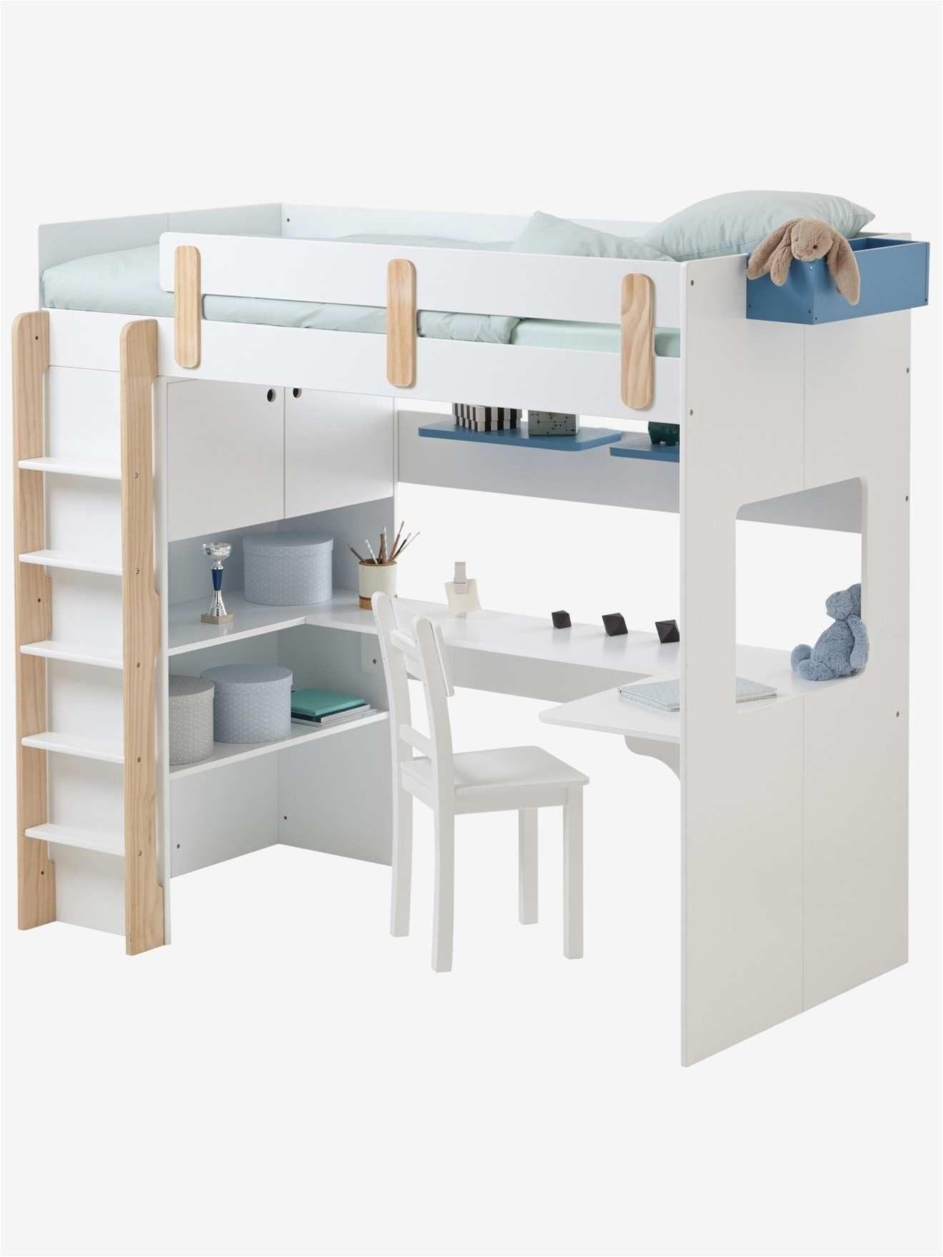 Lit Superposé Blanc Le Luxe 34 Collezione Lit Superposé Avec Bureau