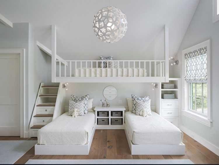 Lit Superposé Blanc Luxe 50 Nouveau Aménagement De Loft